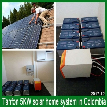 5kw solar home system in colombia