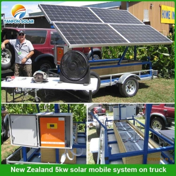 5kw solar mobile system in New Zealand