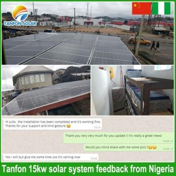 15kw solar energy in Nigeria