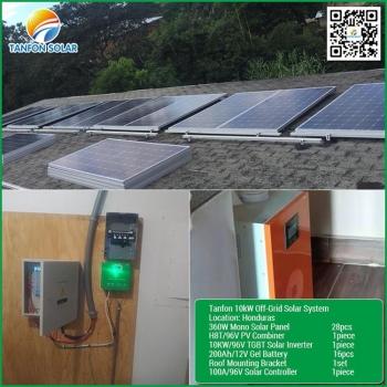 Honduras 10kw solar home system