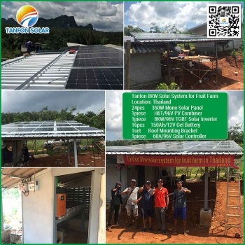 8kw complete set in thailand