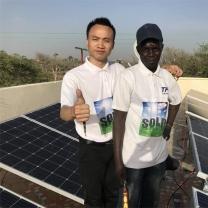 Solar power system factory Benin 5kw photovoltaic solar power