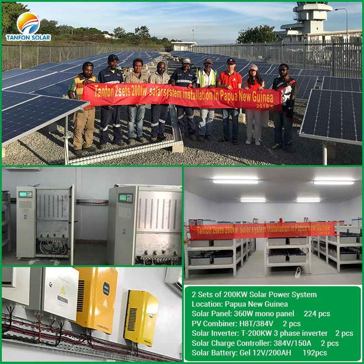 200kw electricity solar Equipment