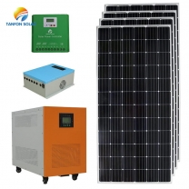SOLAR POWER SYSTEM factory 5kva solar panel for home in Albania