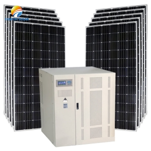 250KW 300kw solar plant that can power a residential estate of up to 150 homes