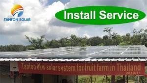 best power generator 30kva solar generator set in Liberia