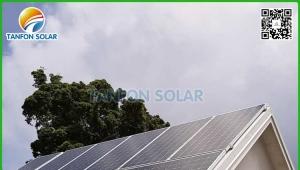 Vanuatu 10kw economical Photovoltaic solar generator for container hotel