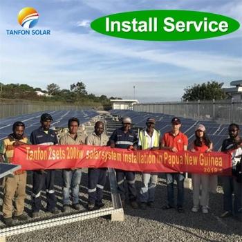 200kw solar energy