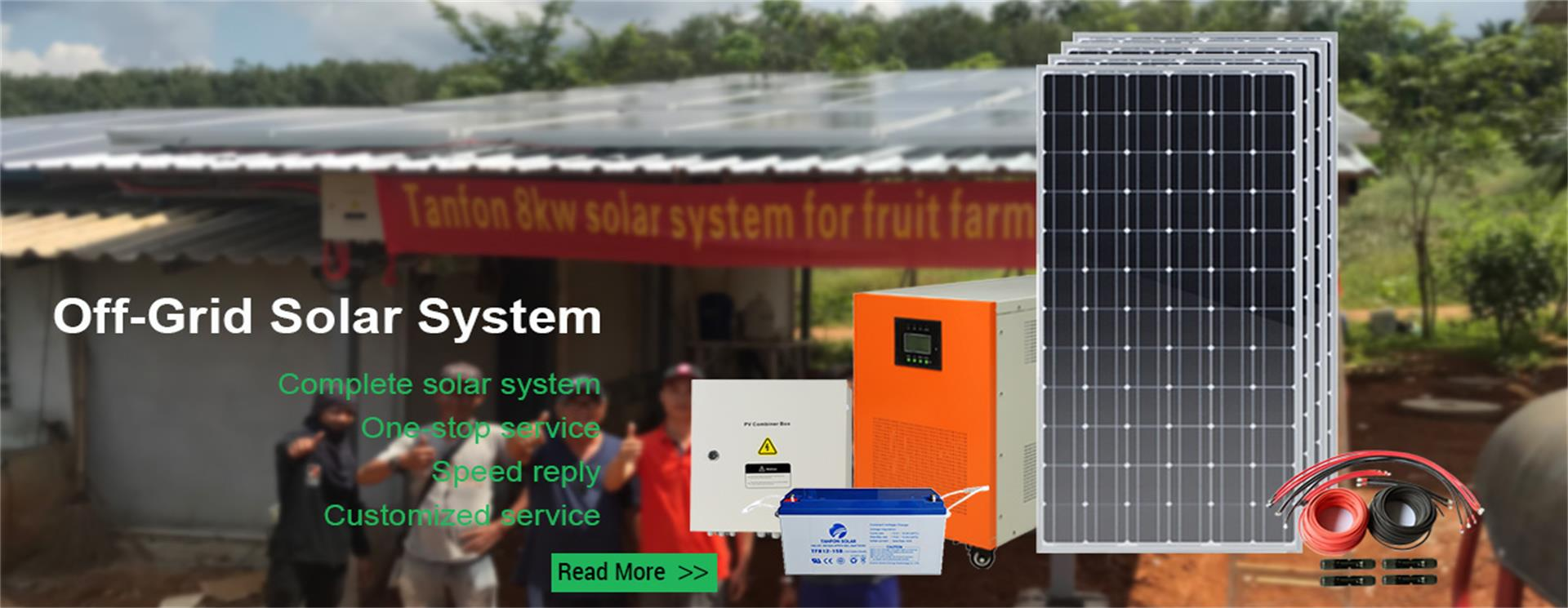 complete solar power system and solar panel inverter