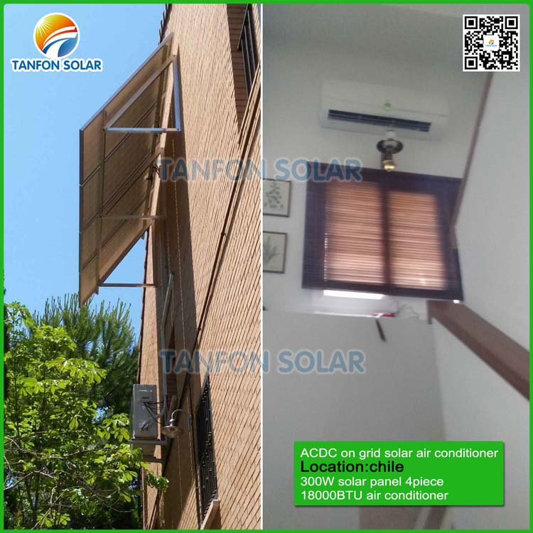 on grid solar air conditioner