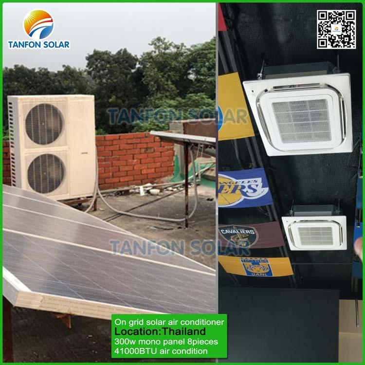 on grid solar air con