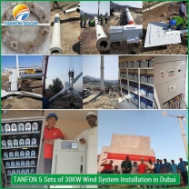 50kw wind power generator with full set parts