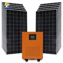 Solar Power System 5000W  off grid system in Angola