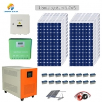 Solar power system supply 5kw solar generator for Argentina house