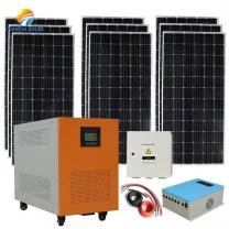 Solar power system manufacturer Brazil 5kw off grid system