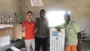 Solar power system factory 5kilowatt solar panels for Belgium home
