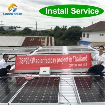 solar powered generator 30kva solar system in home Indonesia