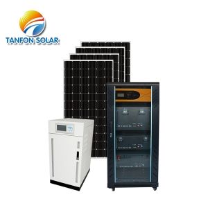 55kw Off Grid  Solar Energy System with Battery Power and Inverter