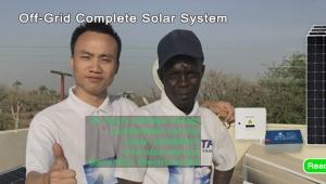 off grid solar system 15kva solar electrical installation Morocco