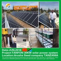 solar power plant 30kw off grid solar systems kits Trinidad and Tobago