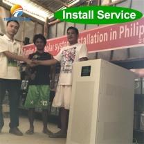 30kw off grid solar solution 30kva solar power plant Trinidad and Tobago