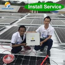 solar power plant 30kw on grid &off grid solar Generating system