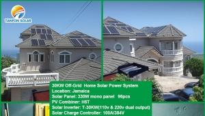 solar power plant School Administration Building 30kw solar project