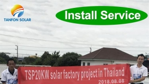 30kw 50KW small factory hotel solar power generation system