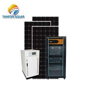Tanfon 25kw solar energy system with APP