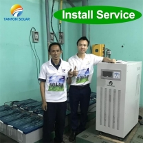 stand alone system for Rural villagers with no grid electricity to power 30kw