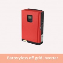Inverter running without battery for off grid solar power system