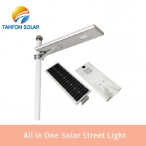 ALL In One solar powered led lights 30w solar yard lighting system
