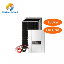on grid solar inverter system 100kw for PV system