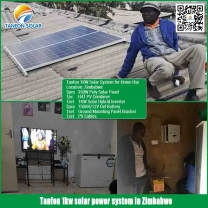 1kw solar panel system with 2.5kwh solar power system