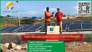15kw solar system with 33kwh solar battery of storage