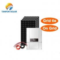 300kw on grid solar power PV system