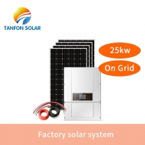 Hybrid Solar Power Inverter On Grid Tie Combined With Mppt Solar Charge Controll