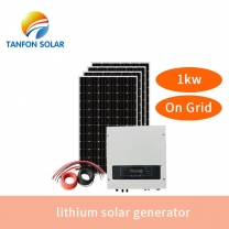 1kw Complete Home Grid Tie Solar System 1000w