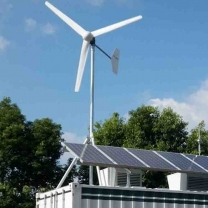 Residential 3kw Wind Solar Hybrid System For Home Use