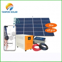 Tanfon 8kw solar system for home with APP