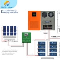 5000W Solar System Energy Saving Electricity Supply with Battery Storage