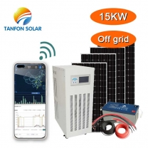 Tanfon 15kw solar electricity system with APP