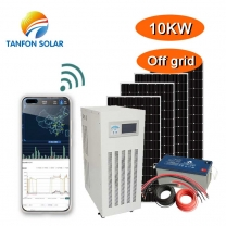 10kw dual solar power system/gasoline generator 10kva