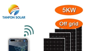 Tanfon 5kw solar system with solar assistant App