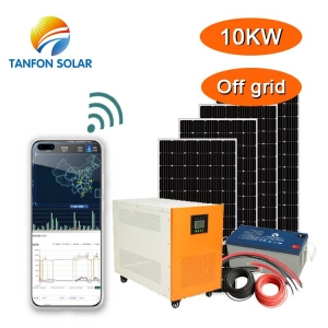 10kw Ground Solar Mounting Customized ECO Solar Panel Energy System