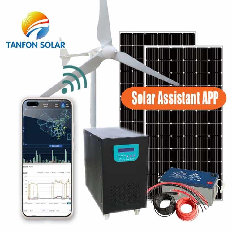 wind and power solar energy hybrid solar wind systems