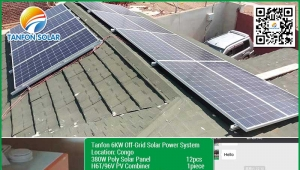 6kw home used solar system in Congo