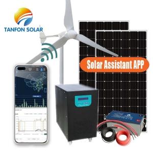 3kw eolien solar hybrid system