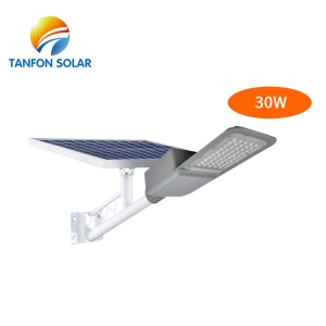 All in two 30w solar power street light