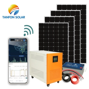 Solar energy system with anti-theft device